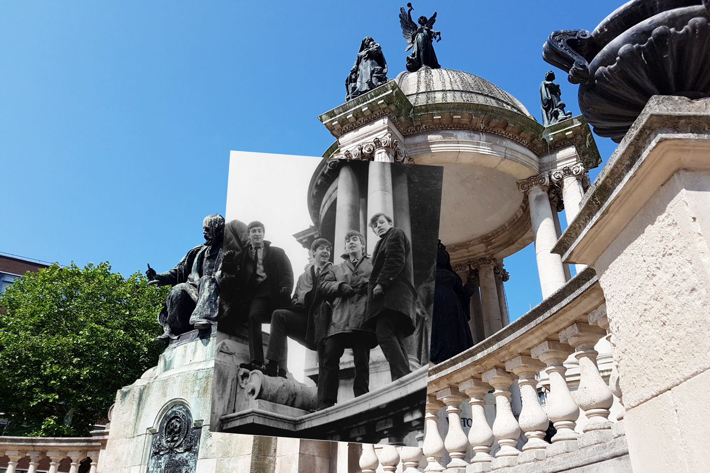 A walk in the footsteps of The Beatles