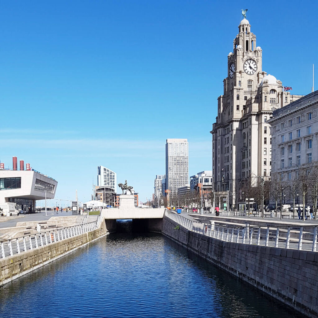 Liver Building and Pier Head Liverpool